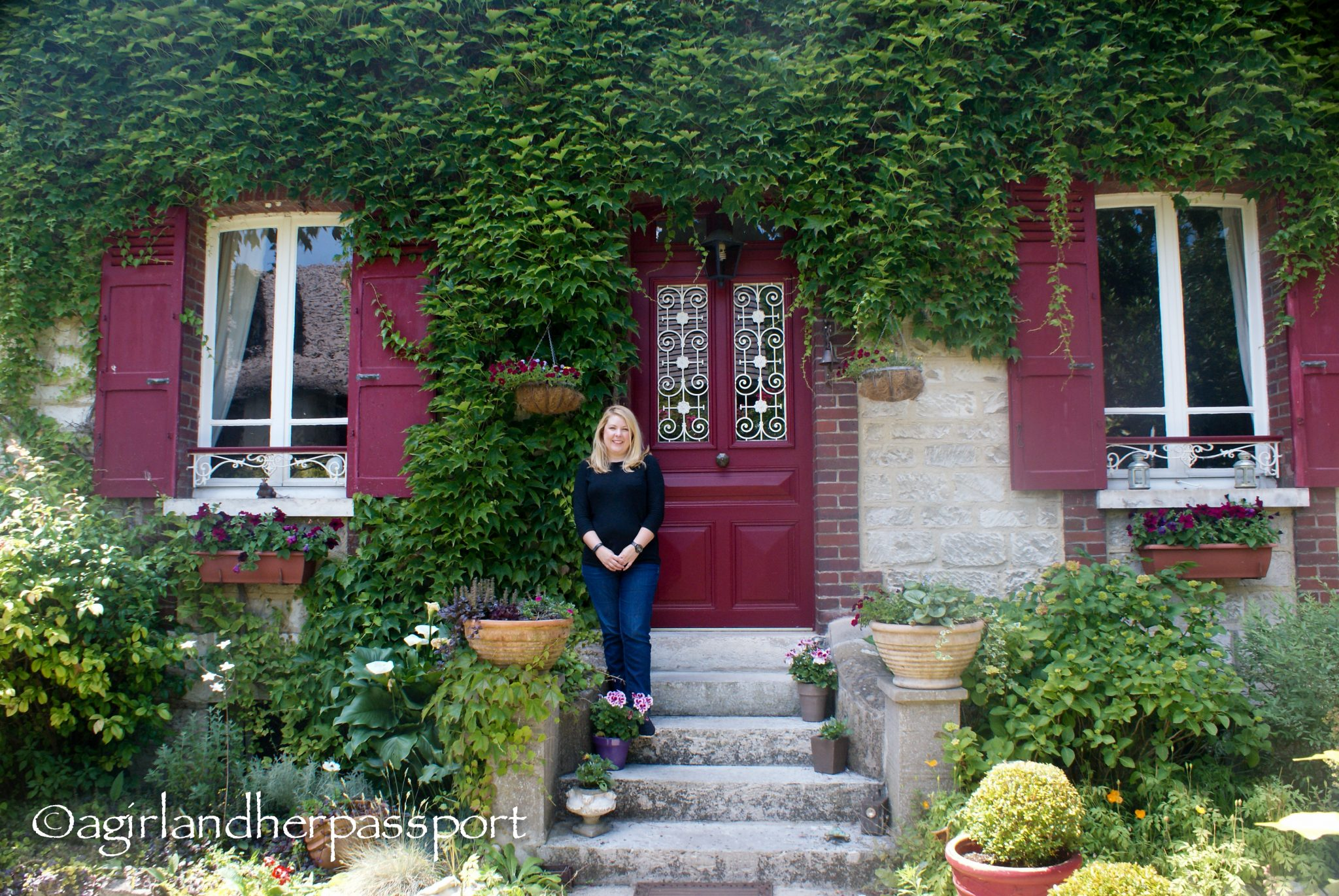 The Beautiful French Countryside in GivernyA Girl and Her Passport