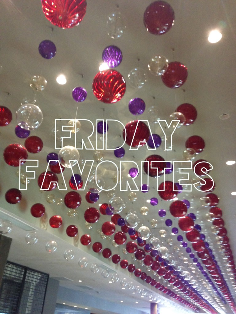 Friday Favorites articles, tips, destinations