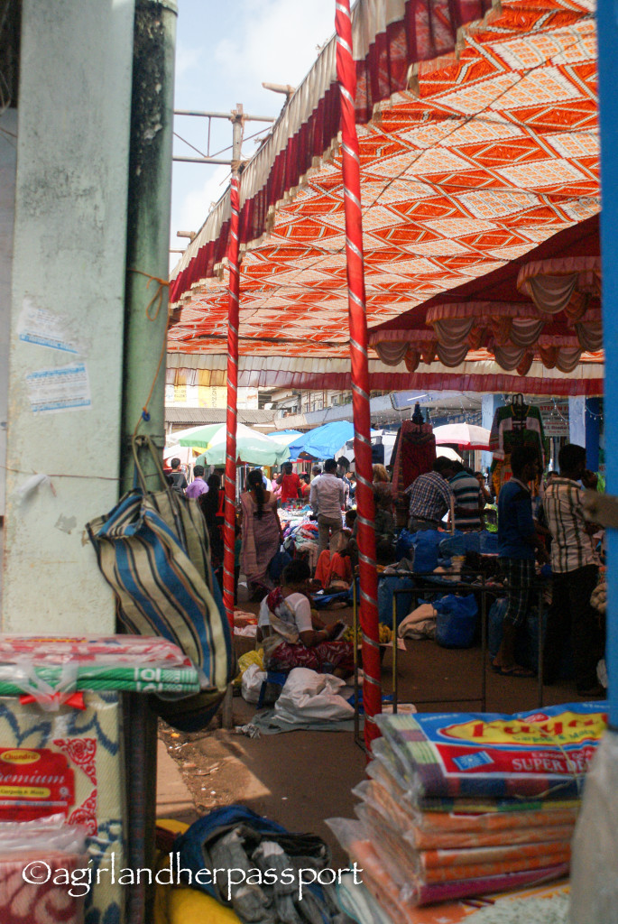 Mapusa Friday Market in Goa