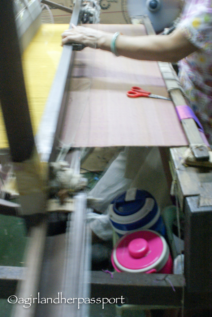 Thai Silk Weaving