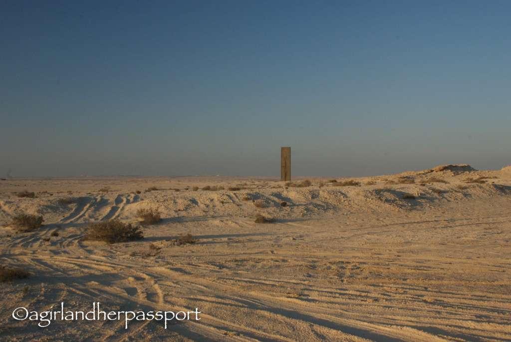Art in the Qatar Desert, Richard Serra