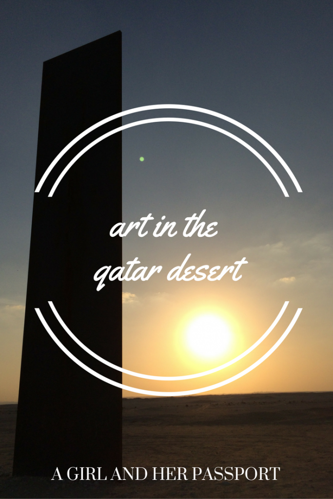 Art in the Qatar Desert