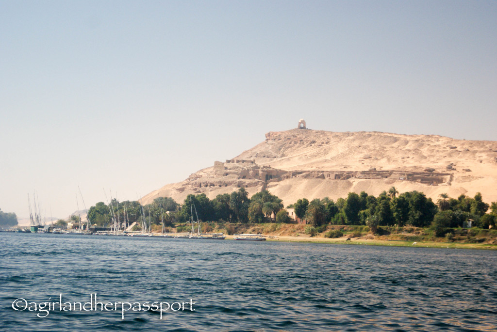 Sailing the Nile on a Felucca