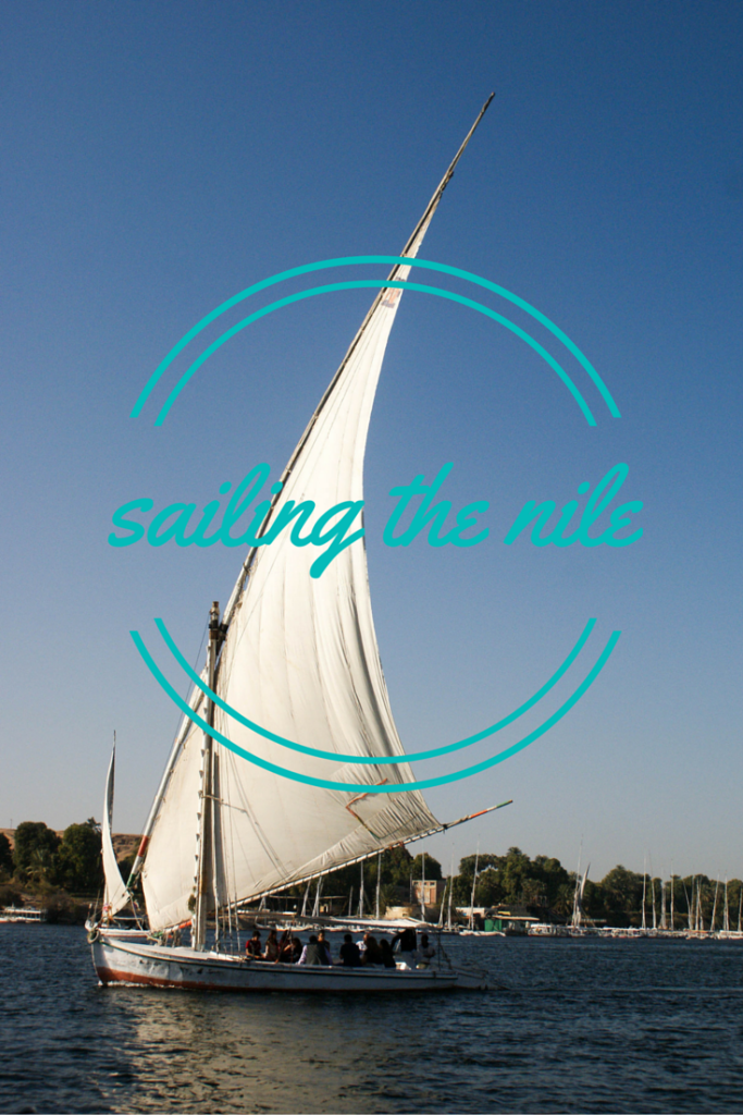 sailing the nile