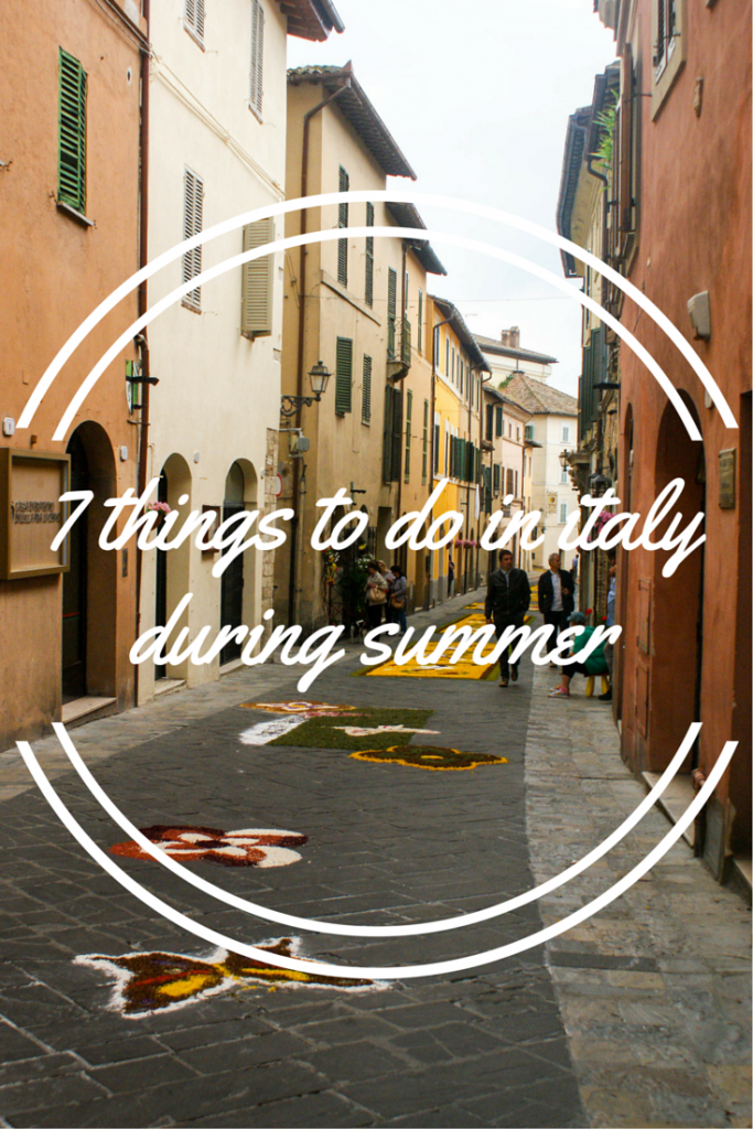 7 Unique Italian Things to do During a Summer Visit to Italy