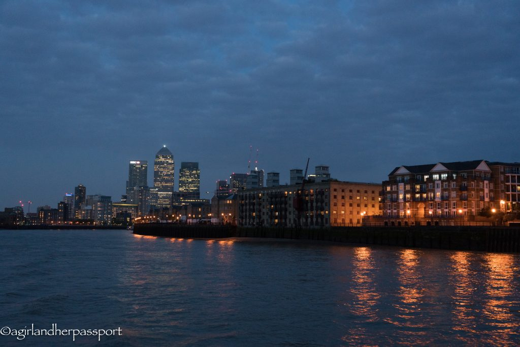 London from the River