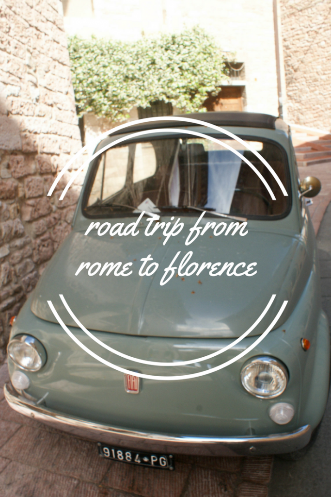 5 Day Road Trip from Rome to Florence