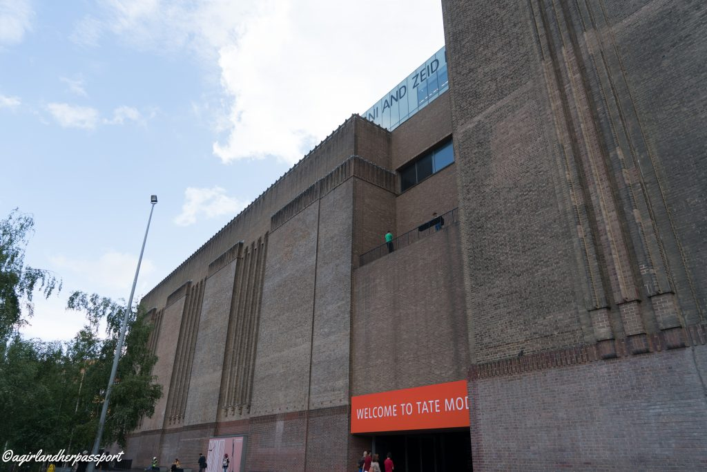 a tour of the tate modern in a and passporta and passport