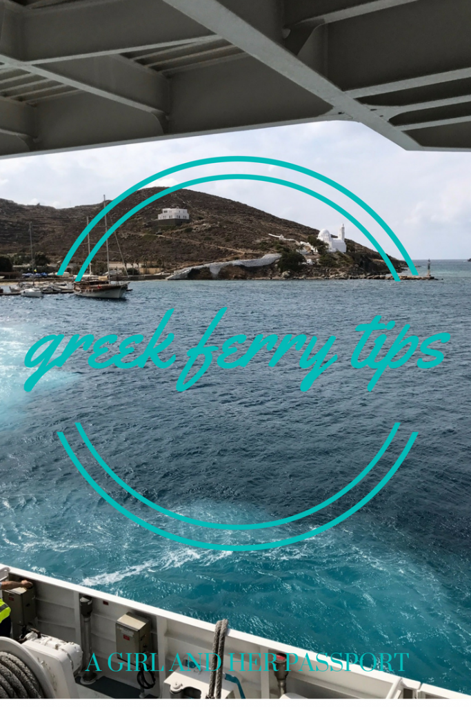 Tips for Taking the Greek Ferry