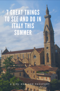 Things to do in Italy this Summer
