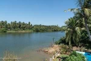 Waterland in Negombo, Sri Lanka