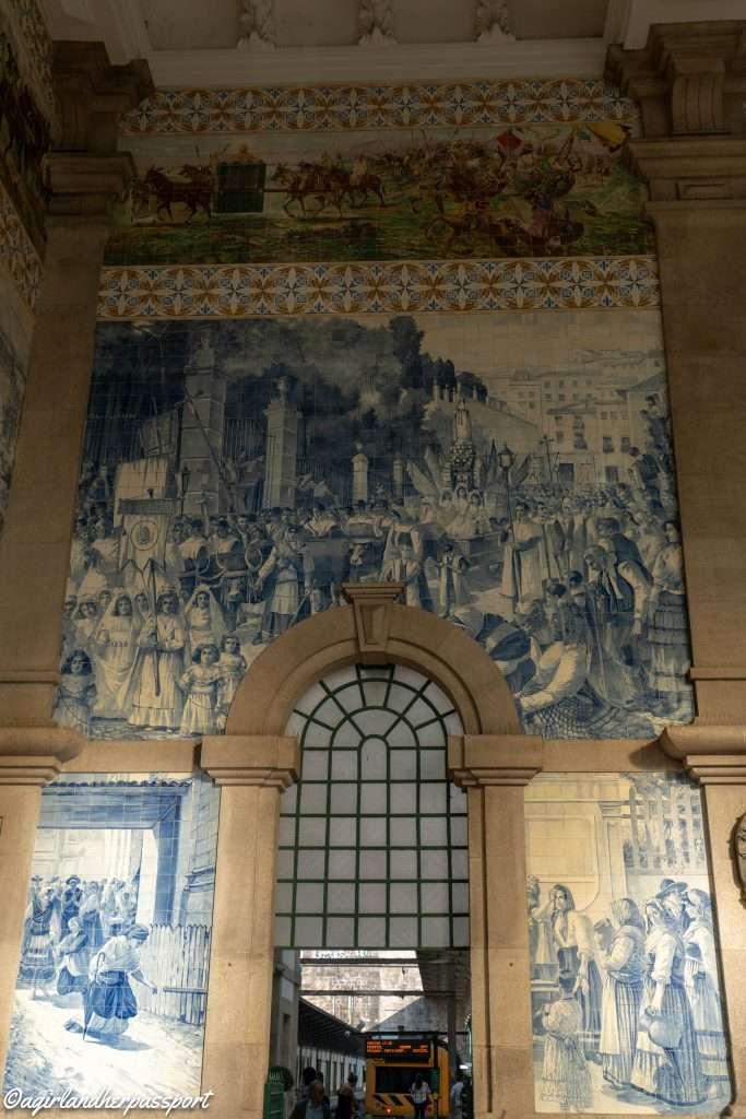 Azulejos, Tiles of Porto