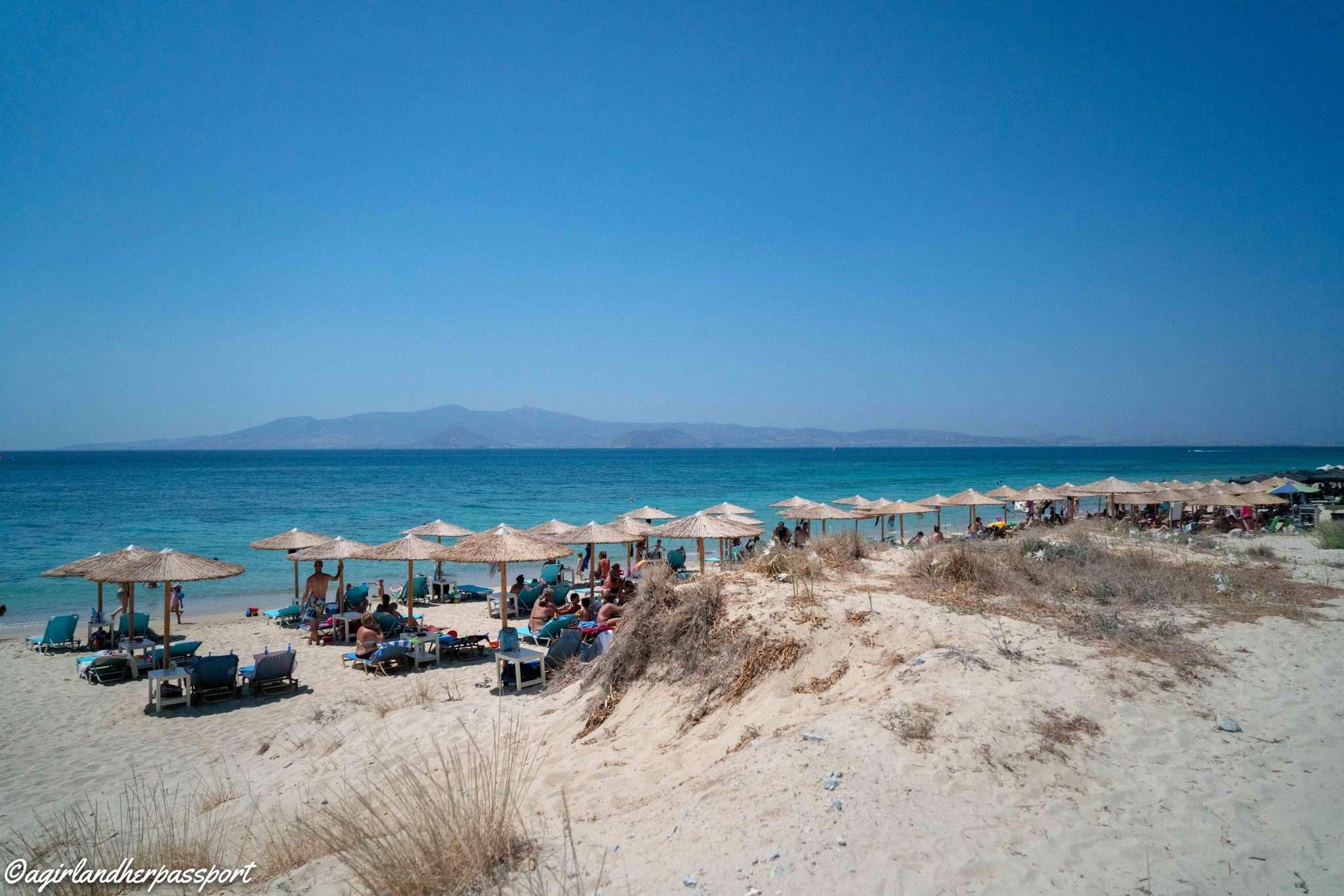 Best Naxos Beaches