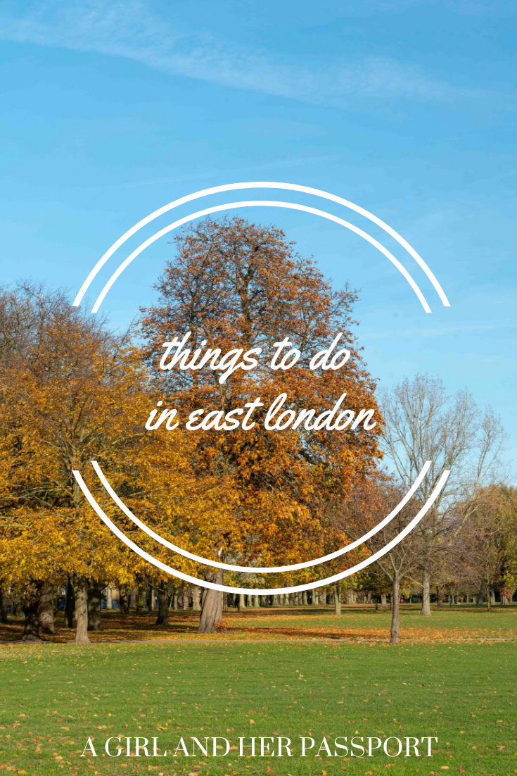 Things to do in East London