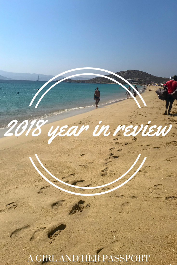 My 2018 Year in Review