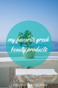 Greek cosmetics