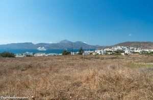 View of Adamas from Santa Maria Village Hotel