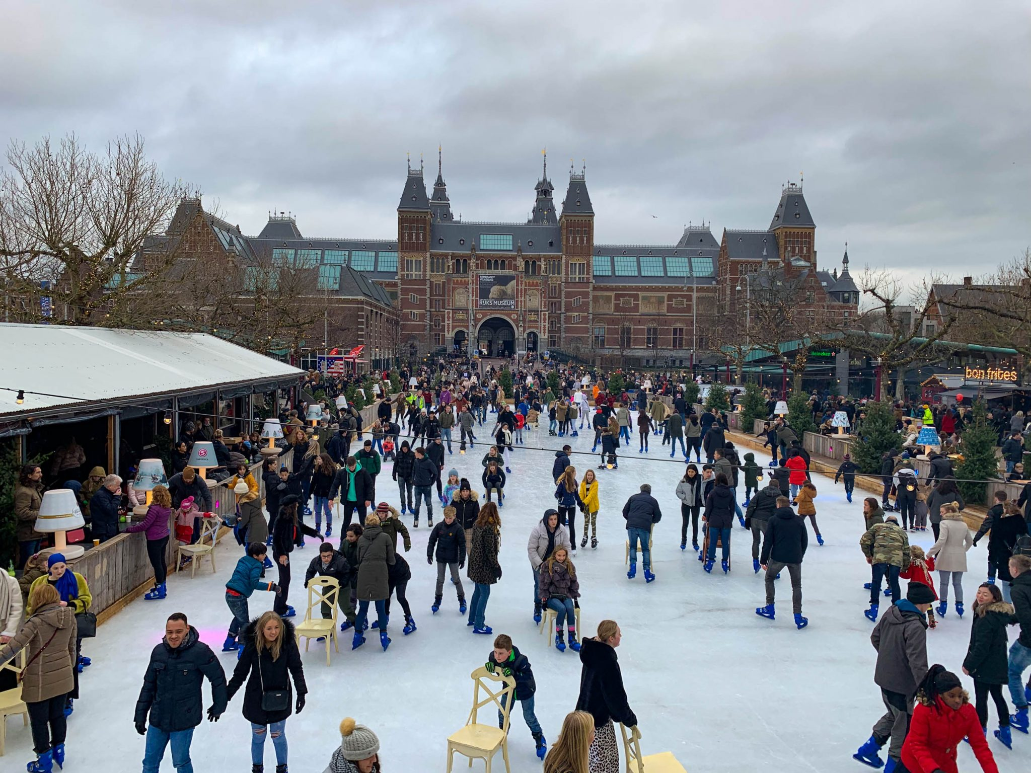 Ice Village skating rink