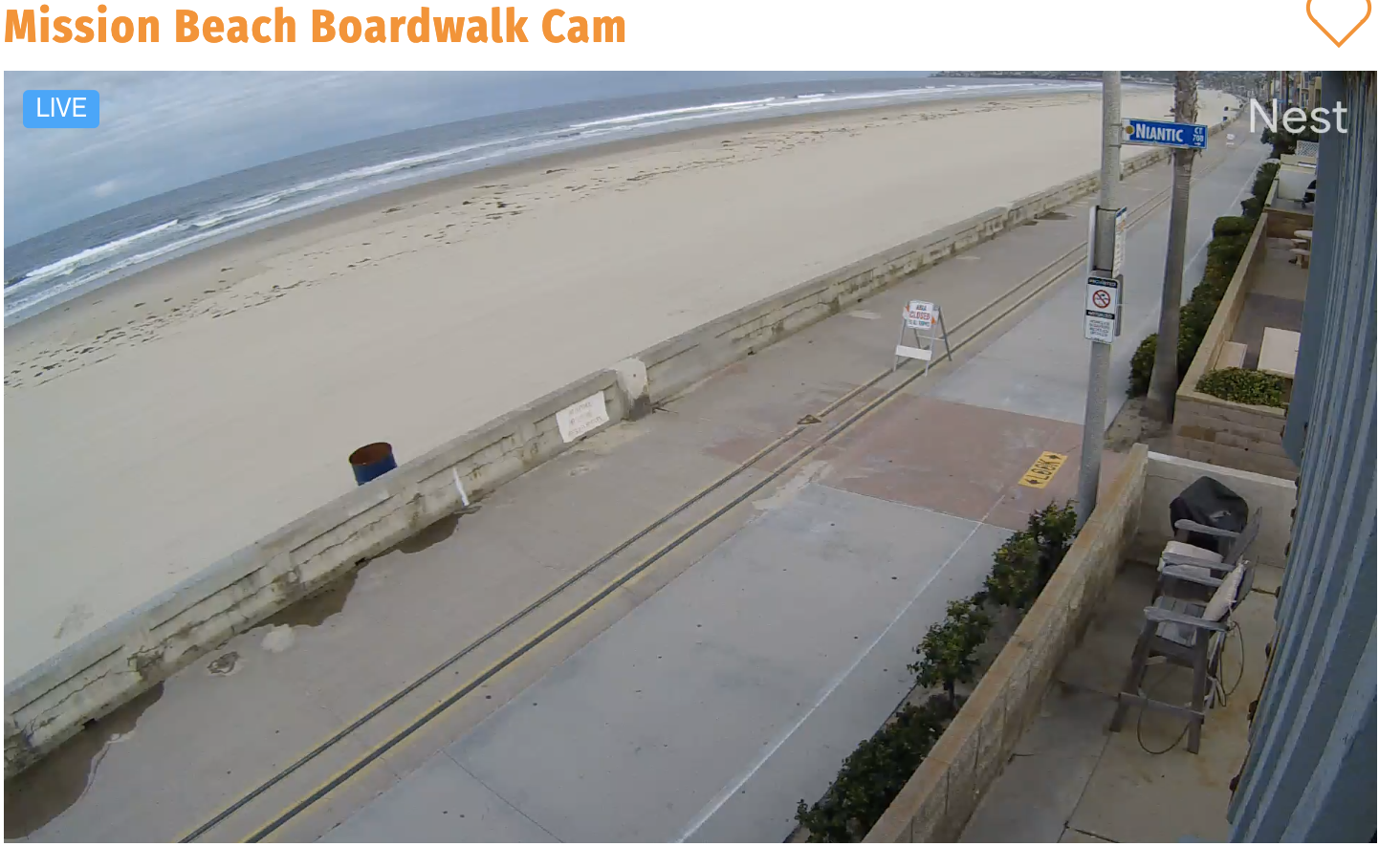 San Diego webcam