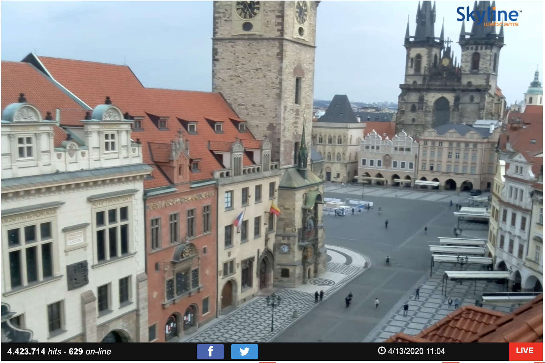 Prague Old Town webcam