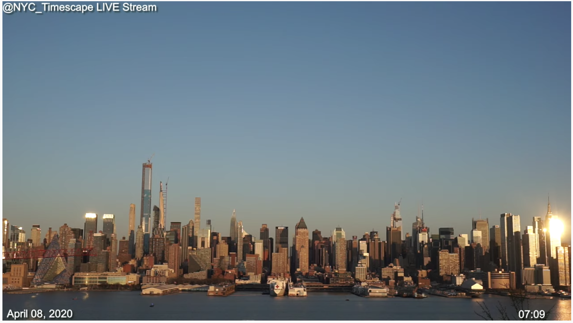 New York City Skyline Webcam