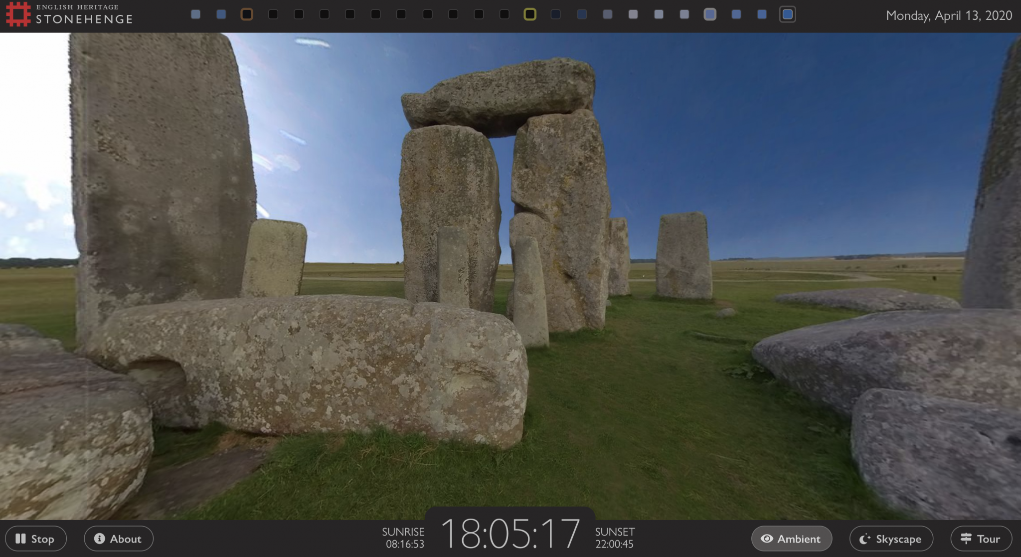 Stonehenge Webcam