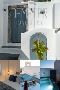 Demeter Cave House Pin